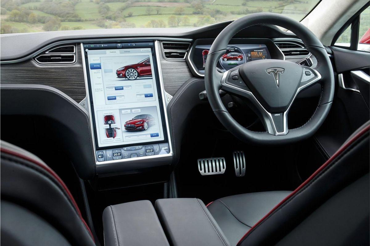 Tesla Model S Will Borrow The Model 3 Interior Electric