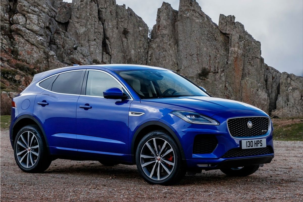 Jaguar E Pace 2018 All Electric Suv And Wheel Drive Vehicle