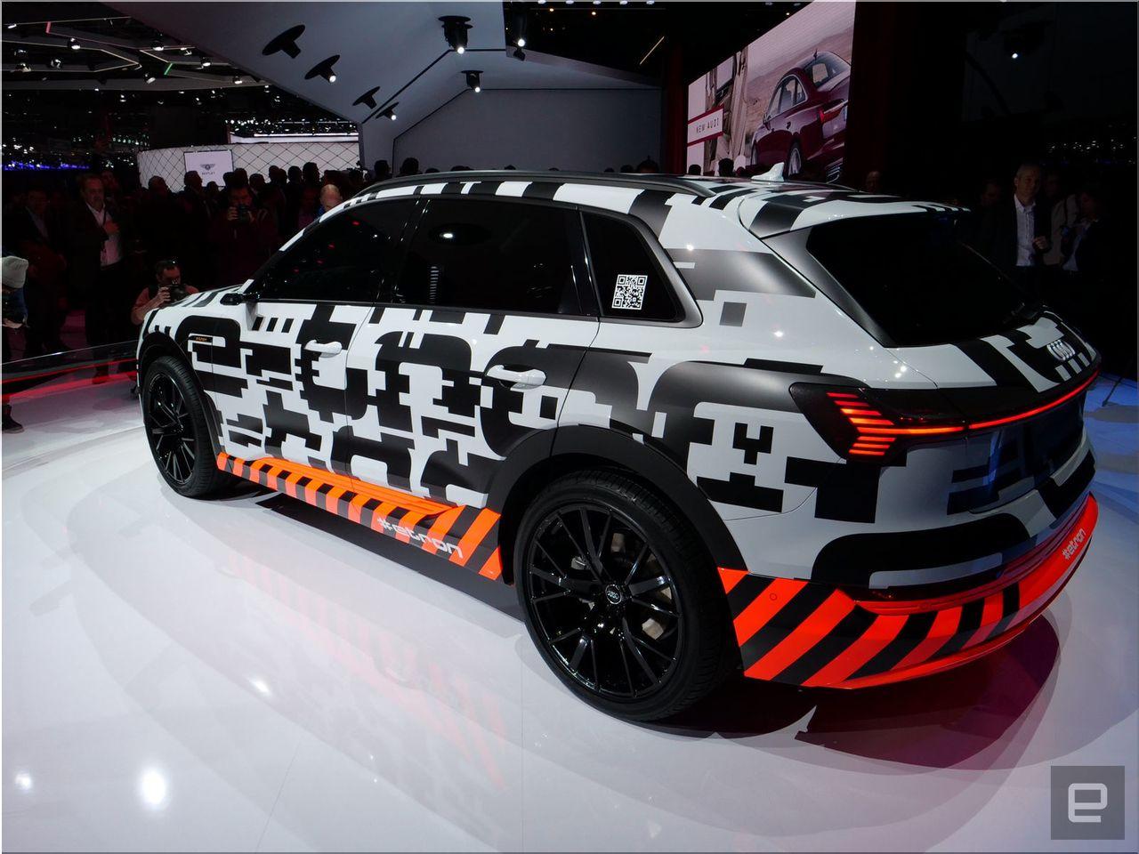 Audi E Tron Electric SUV