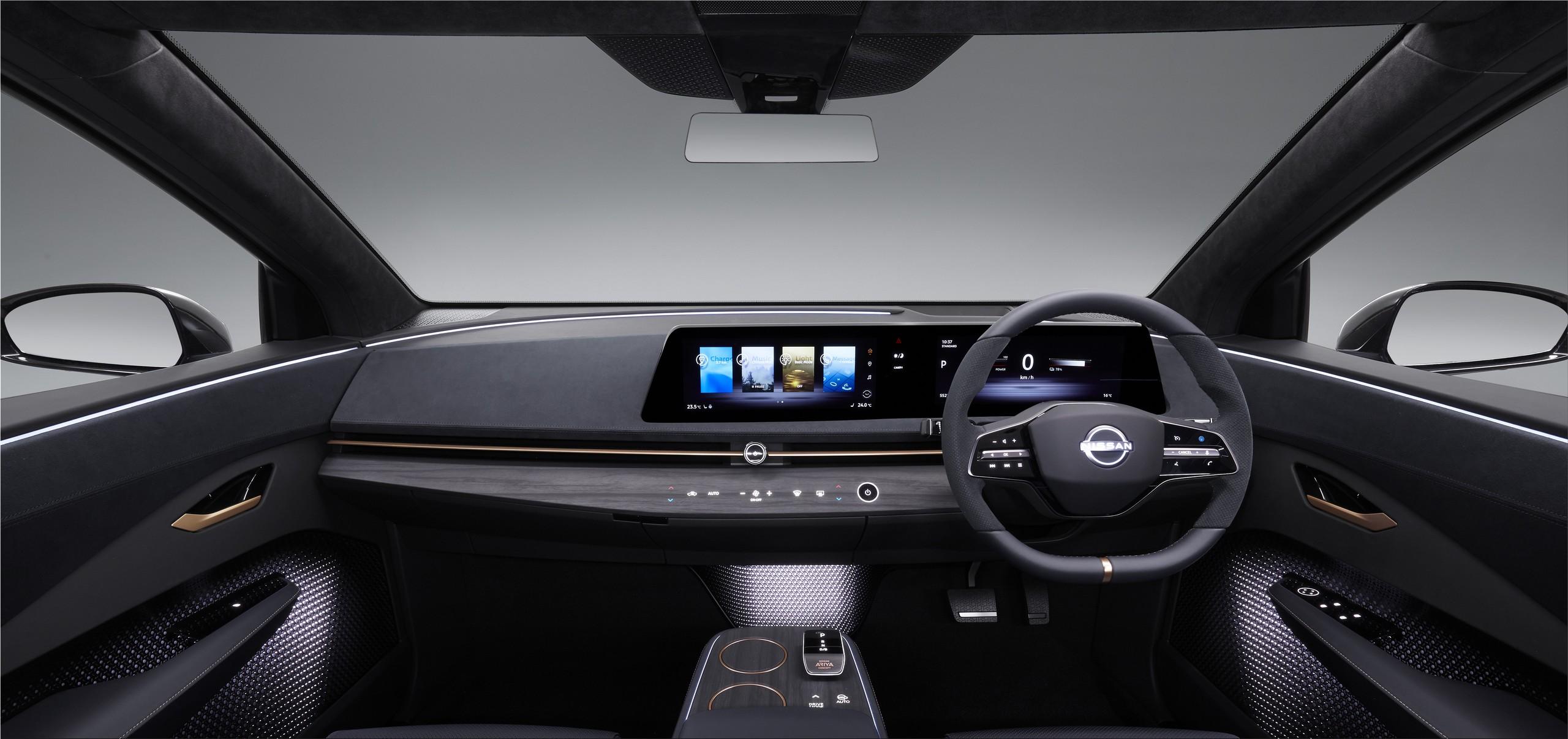 Nissan Ariya Electric Suv With Up To 500km Of Range Electric Cars Electric Hunter