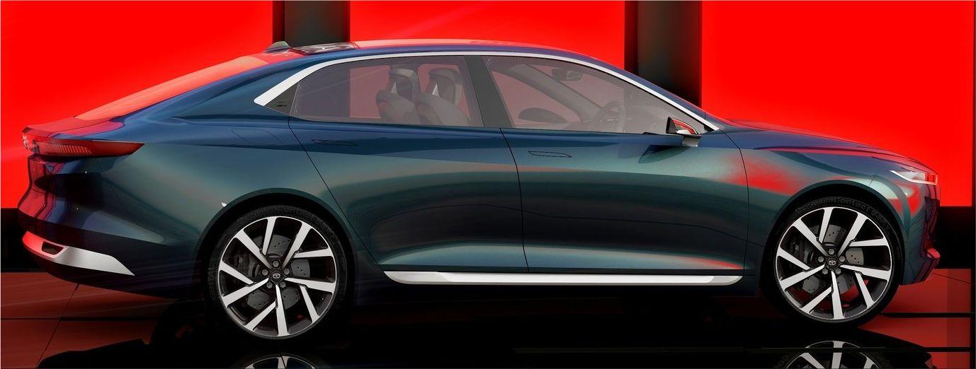 Tata evision concept for the future design philosophy for Tata motors future cars