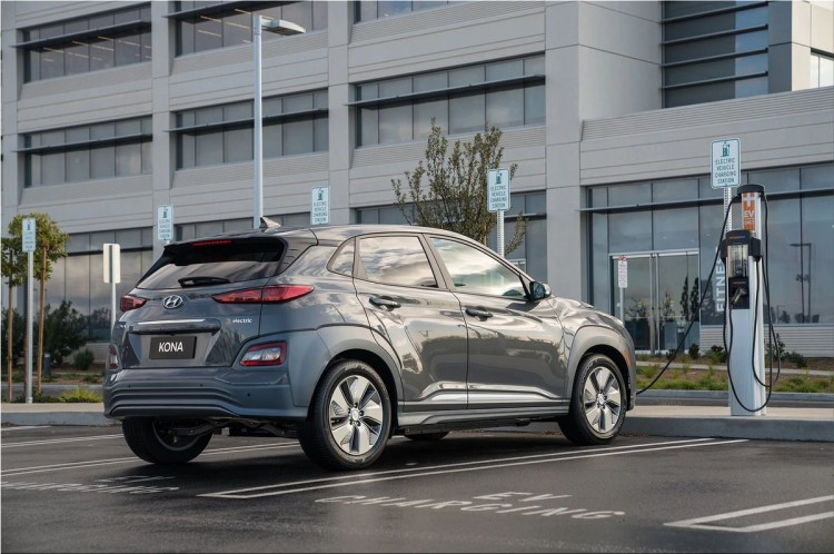 2019 Hyundai Kona Electric car