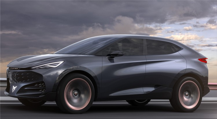 CUPRA Tavascan electric SUV