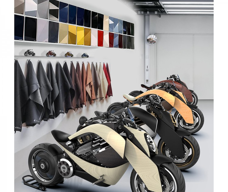 EV-1 electric motorcycle