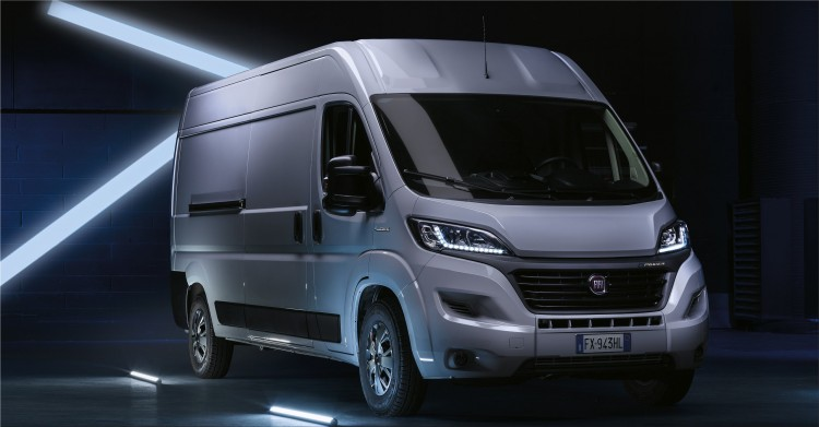 Fiat E-Ducato electric van