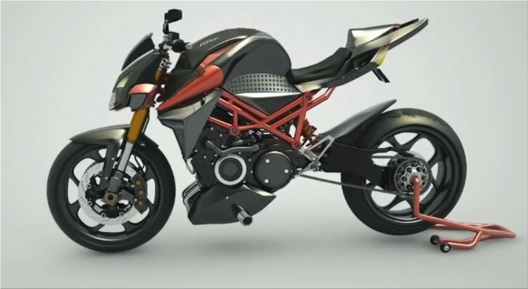 Furion M1: the first plug-in hybrid motorcycle