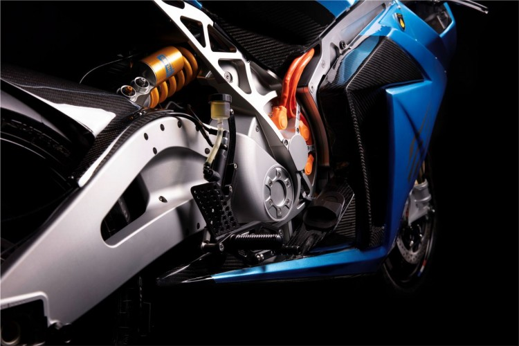 Lightning Strike electric motorcycle