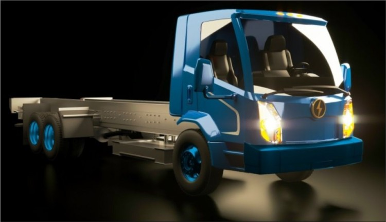 Lion8 - all-electric city truck