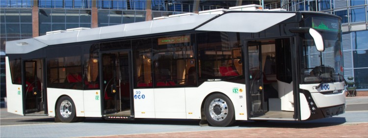 MAZ 303E10 electric bus