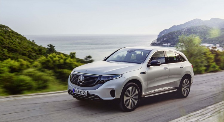 Mercedes-Benz EQC electric SUV