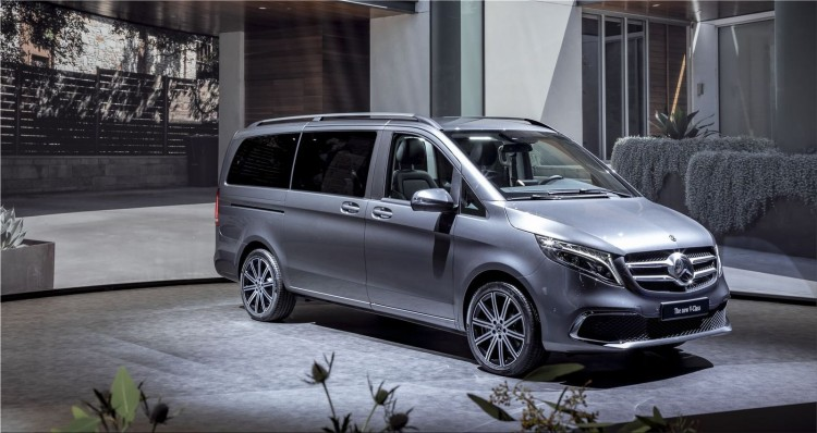 Mercedes-Benz EQV - electric minivan