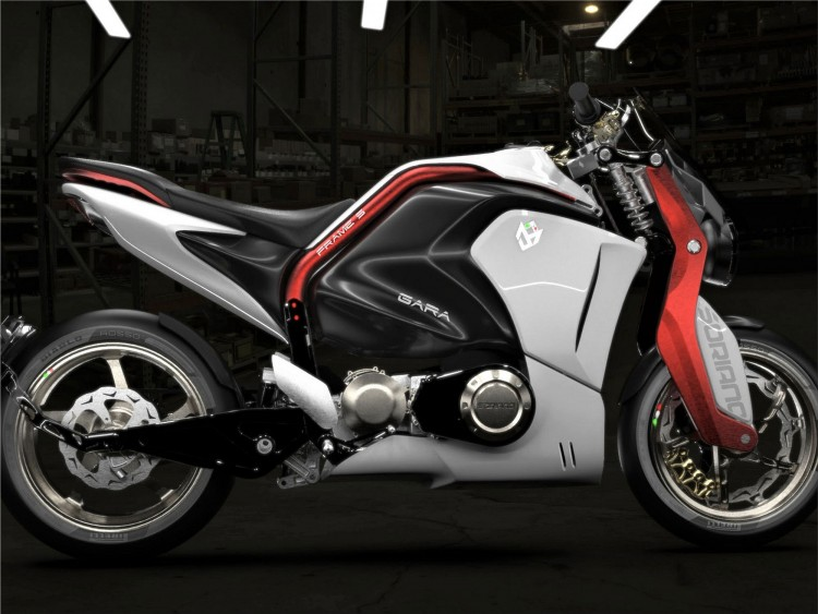 Soriano Giaguaro electric motorcycle