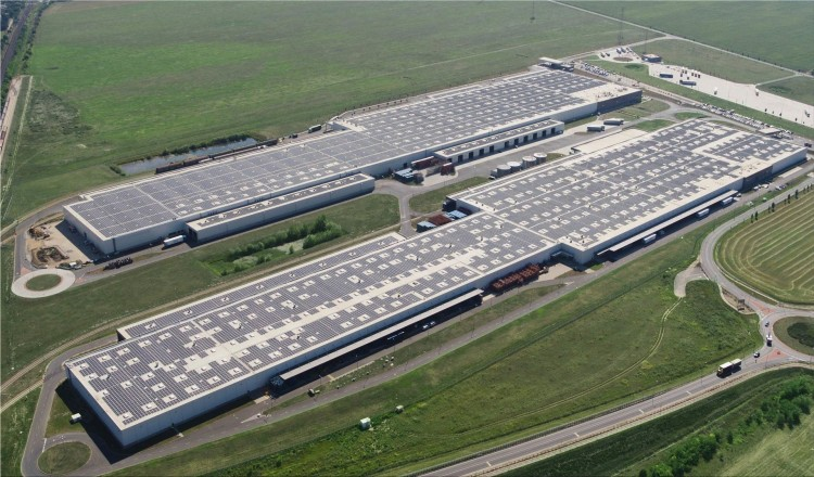 The largest rooftop solar power plant in Europe