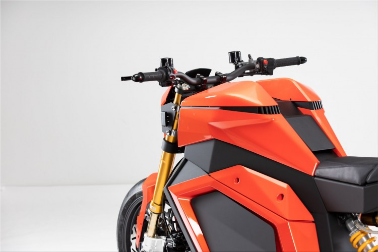 Verge TS electric motorcycle