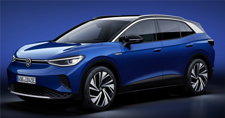Volkswagen ID 4 fully electric SUV 2021