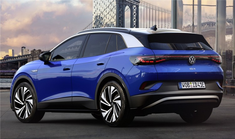 Volkswagen ID 4 fully electric SUV