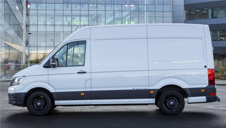 Volkswagen e-Crafter fully electric commercial vehicle