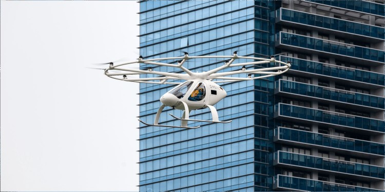 Volocopter 2X Air Taxi