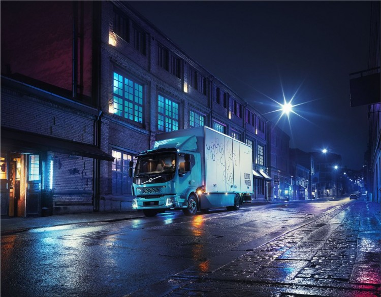 Volvo FL Electric truck