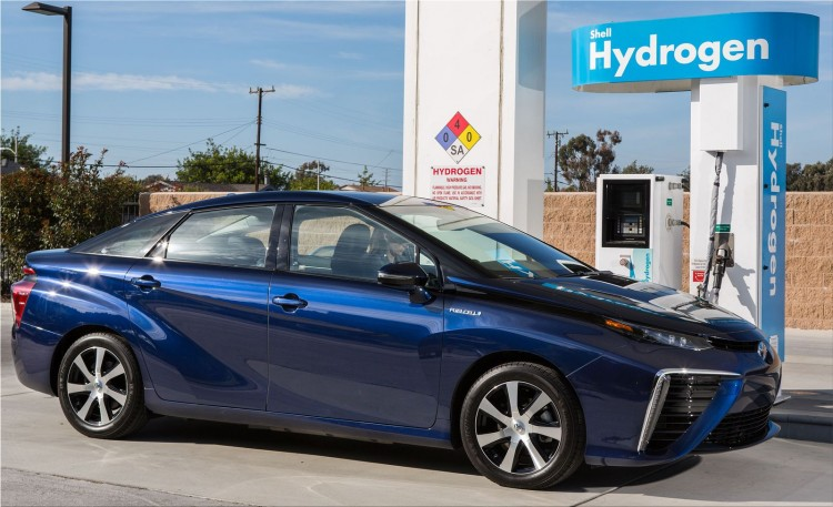 Toyota Mirai - fuel cell vehicles