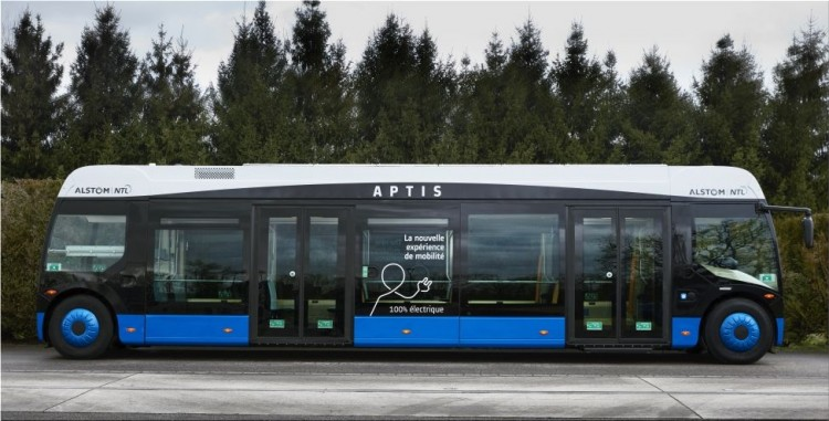 Aptis electric bus