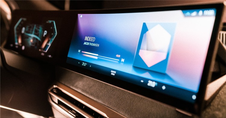 BMW Curved Display