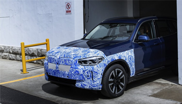 BMW iX3 fully electric SUV
