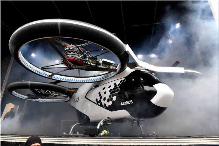 CityAirbus - flying taxi