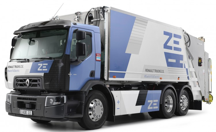 D ZE and D Wide ZE electric truck