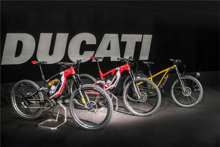 The new Ducati E-bike range