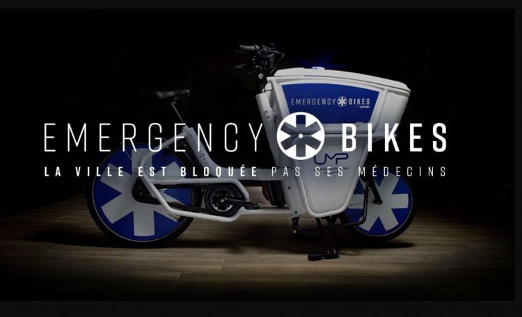 Special electric bikes for emergency doctors
