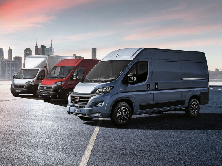 Fiat Ducato MY2020 commercial car 2020