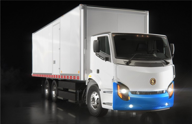 Lion8 - all-electric Class 8 urban truck