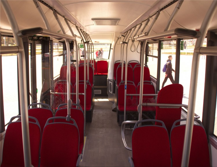 MAZ 303E10 electric bus: specifications and design