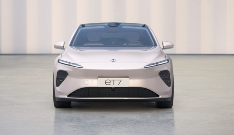 NIO ET7 electric car