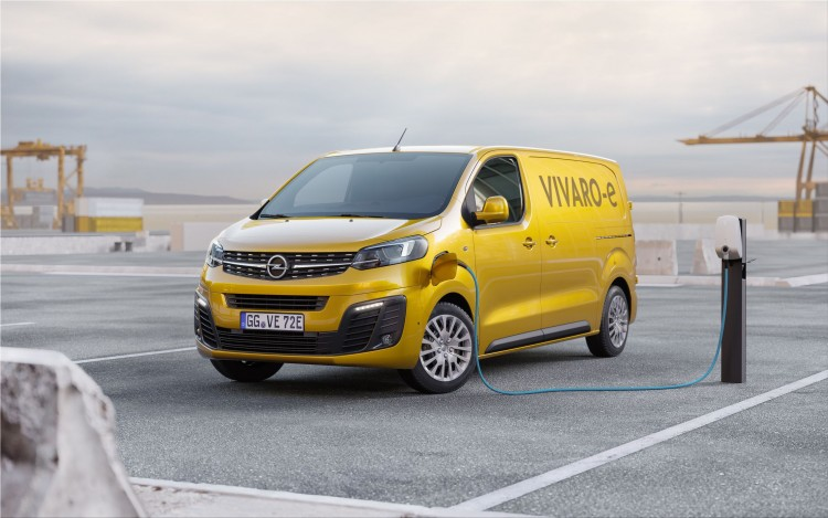 Opel Vivaro-e electric van