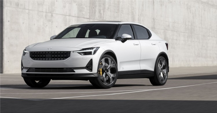 Polestar 2  fully electric vehicle