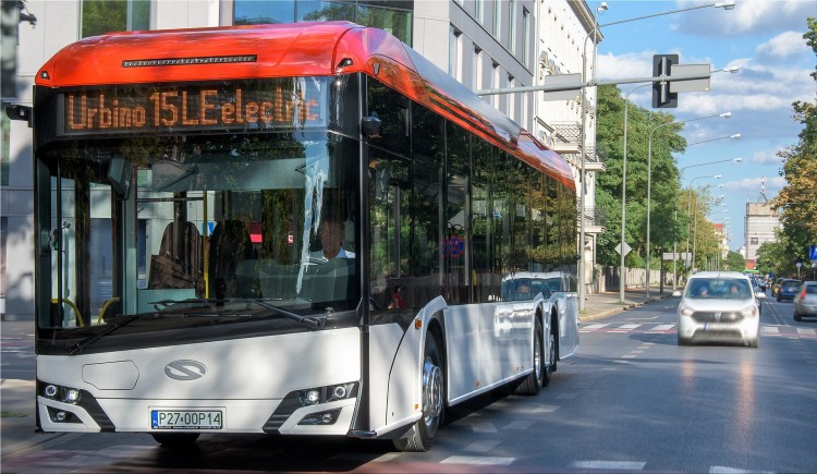 Solaris Urbino 15 LE electric bus