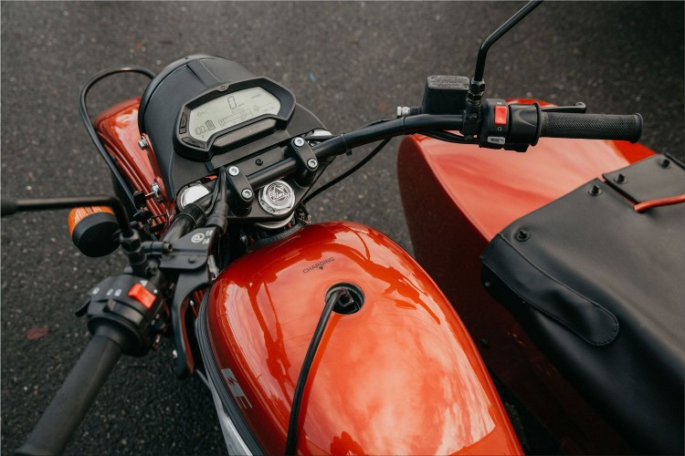 Ural cT - the first electric motorcycle with sidecar