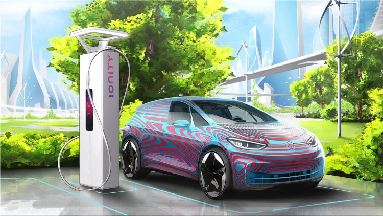 Volkswagen will install 36,000 charging stations for electric cars in Europe