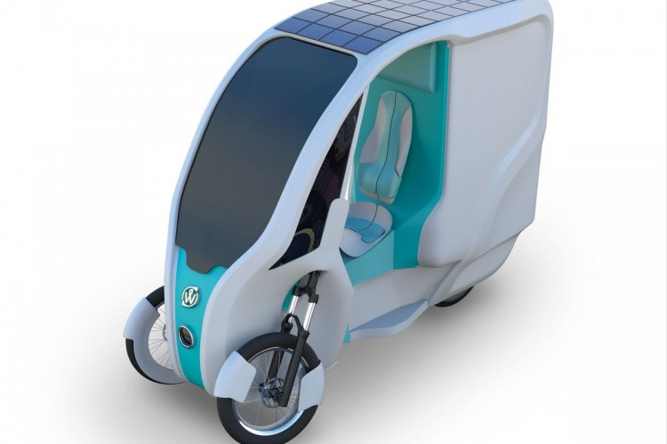 "Wello ""Family"" a compact electric tricycle"
