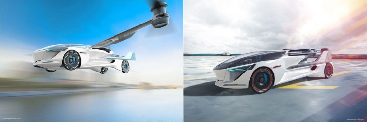 AeroMobil 5.0 VTOL  (vertical takeoff and landing)