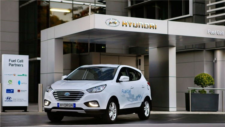Hyundai ix35 Fuel Cell Electric Vehicle