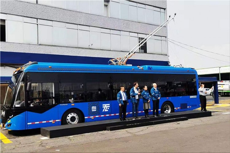 Battery-powered trolleybuses