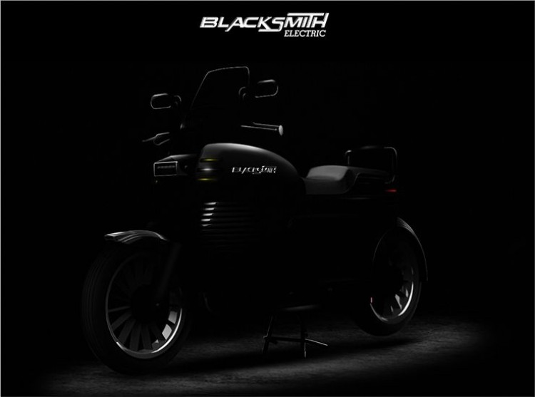 Blacksmith B2 electric motorcycle