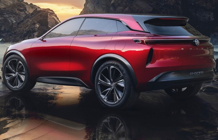 Buick Enspire Concept, an electric SUV