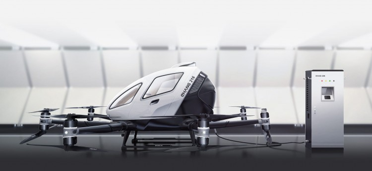 Ehang 216 Autonomous Aerial Vehicle