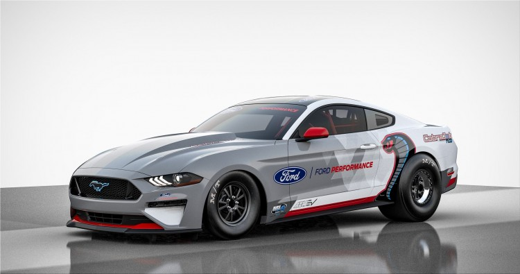 Ford Mustang Cobra Jet 1400 all-electric sports car