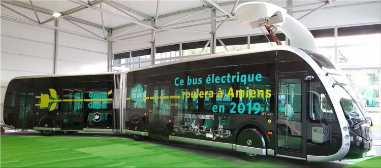 New E-Bus line between Bayonne and Biarritz
