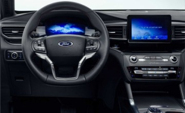 Ford Explorer PHEV interior